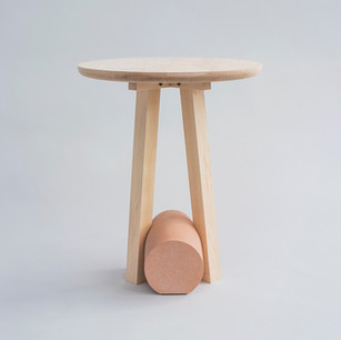 Poise Maple Side Table
