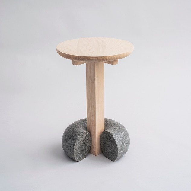 Poise Maple Stool