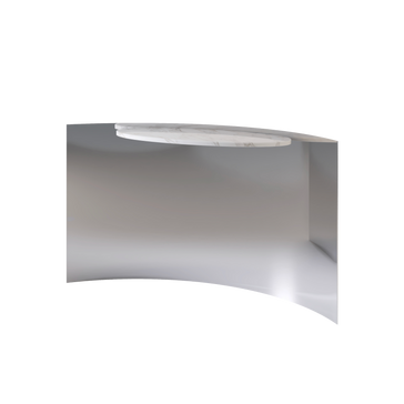 Tangent Console Marble