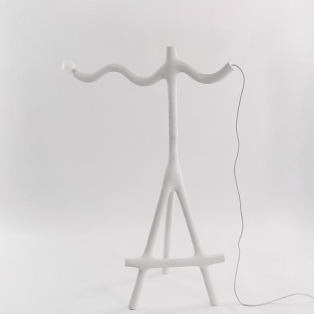 Wave Lamp on Sticks