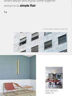 SIMPLE FLAIR WEB