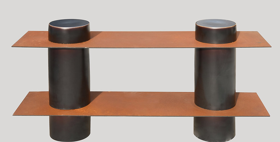 Column Shelving 2 Layers