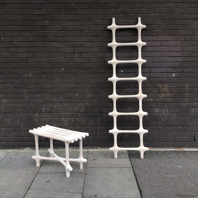 bench & Ladder