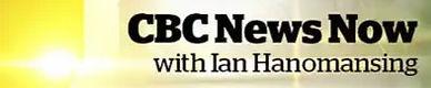 Ian Hanomansing of CBC News and Amy Lloyd of Lloyd Counselling