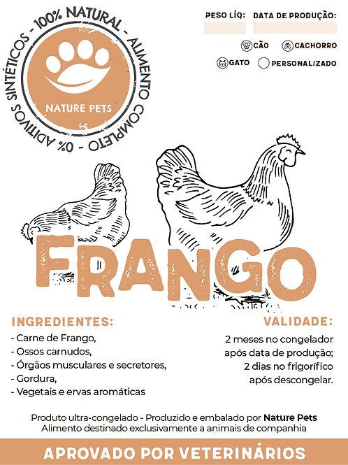 Refeição Frango p/ Cão adulto (preço por Kg)