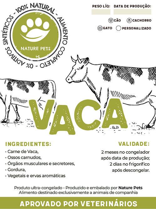 Refeição Vaca p/ Cão adulto (Preço por Kg)