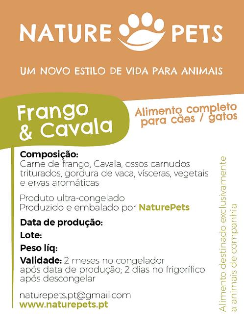 Refeição Frango&Cavala p/ Cachorro (Preço por Kg)