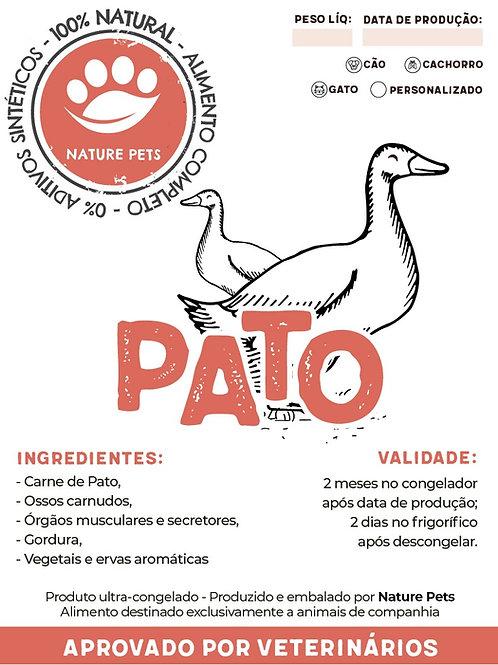 Refeição Pato p/ Cão adulto (Preço por Kg)