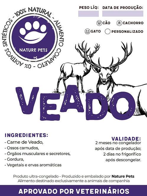 Refeição Veado p/ Cachorro (Preço por Kg)