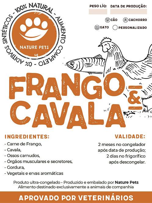 Refeição Frango&Cavala p/ Gatos (Preço por Kg)
