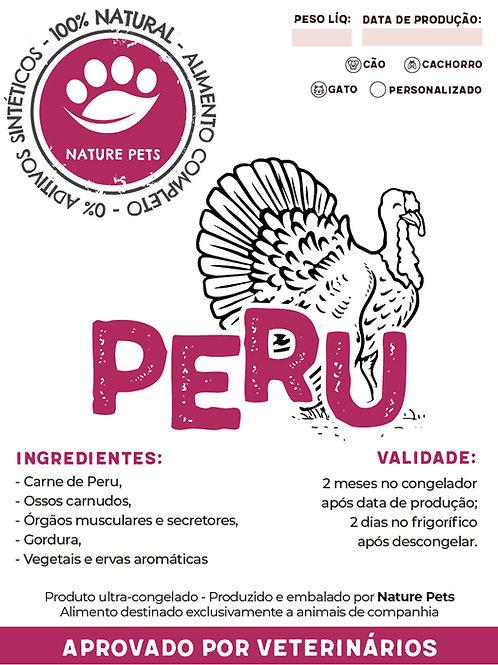 Refeição Peru p/ Cão adulto (preço por Kg)