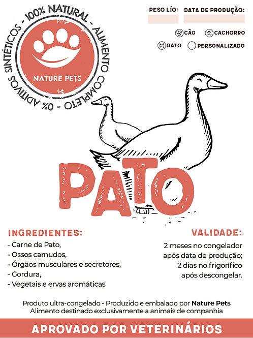 Refeição Pato p/ Cachorro (Preço por Kg)