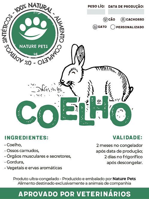 Refeição Coelho p/ Cão adulto (Preço por Kg)