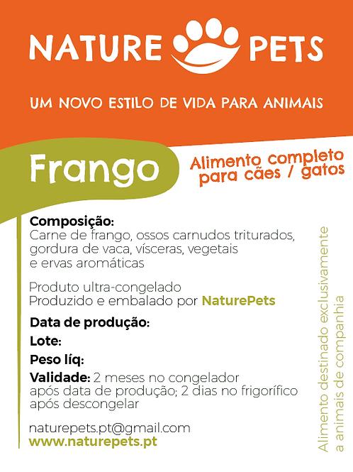 Refeição Frango p/ Gatos (Preço por Kg)