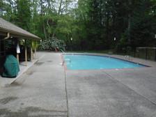 swiming pool patio