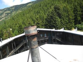 Roof Silver Ski Chalet