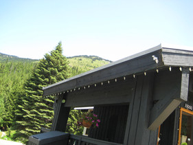 Edge of the roof