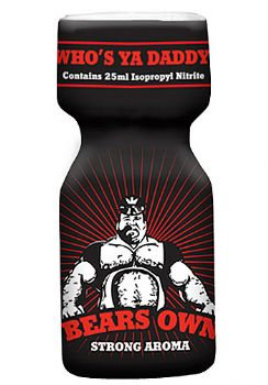 Попперс Bears Own 25ml Англия