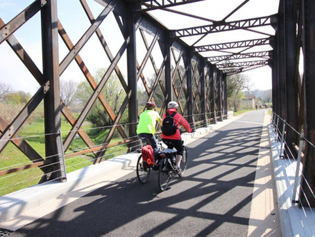 La voie verte, le vélo facile et sécurisé