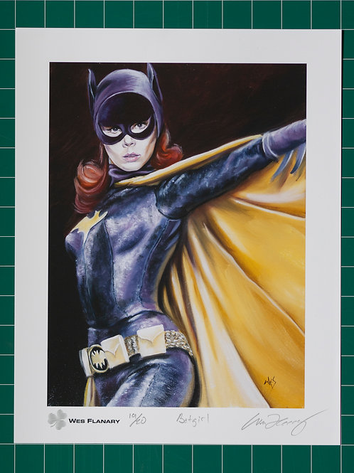 Batgirl Signed and Numbered 11x14 Print*