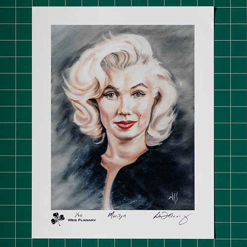 Marilyn Signed and Numbered 11x14 Print*