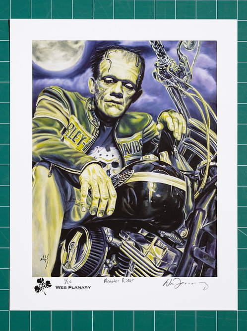 Monster Rider Signed and Numbered 11x14 Print*