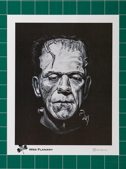 The Monster on Black 8x10 Print