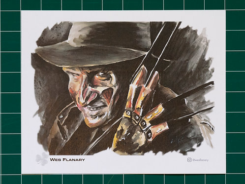 Freddy Krueger 8X10 Print