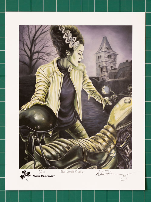 The Bride Rides Signed and Numbered 11x14 Print*