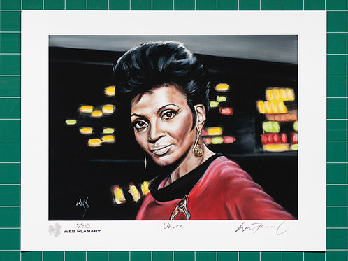 Lt. Uhura Signed and Numbered 11x14 Print*