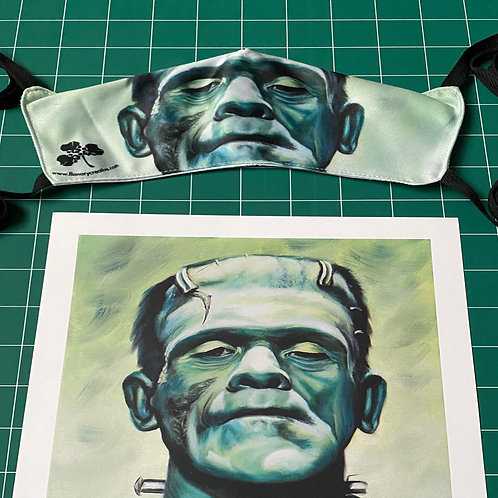 Frankenstein's Monster Facemask and Signed 8x10 Print