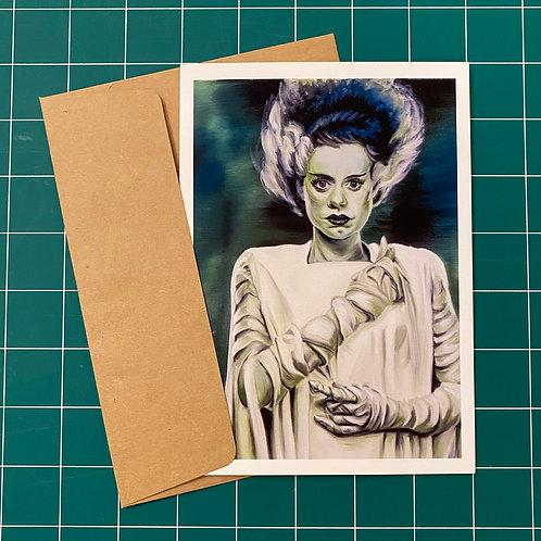 Bride of Frankenstein - Greeting Card