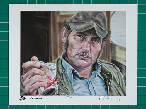 Quint Signed and Numbered 11x14 Print*