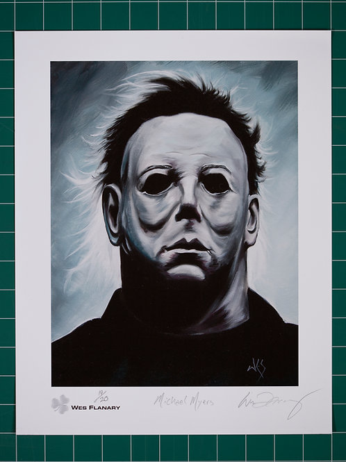 Michael Myers Signed and Numbered 11x14 Print*