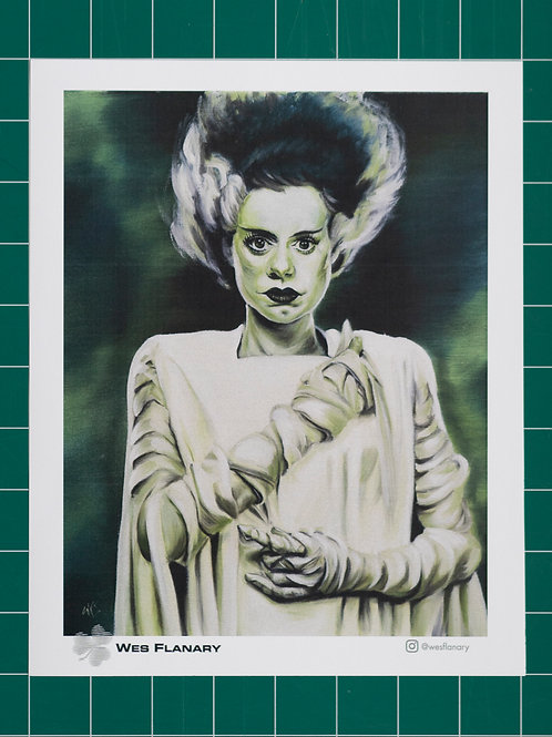 Bride of Frankenstein Full - 8x10 Print