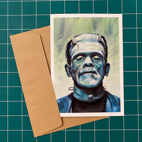 Frankenstein's Monster - Greeting Card