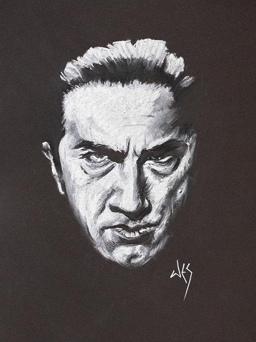 Bela Lugosi Original Charcoal - 8x10