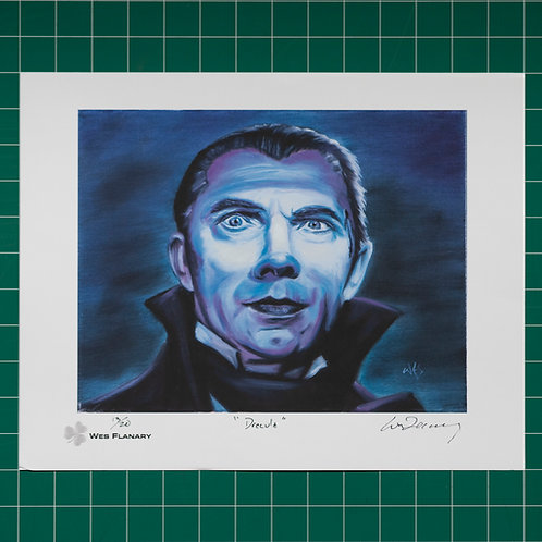 Dracula (Count Mora) Signed and Numbered 11x14 Print*
