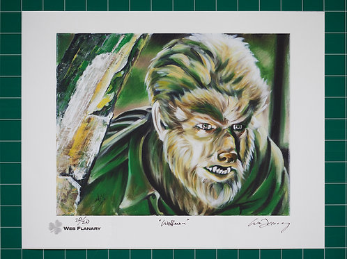 Wolfman - Signed and Numbered 11x14 Print*