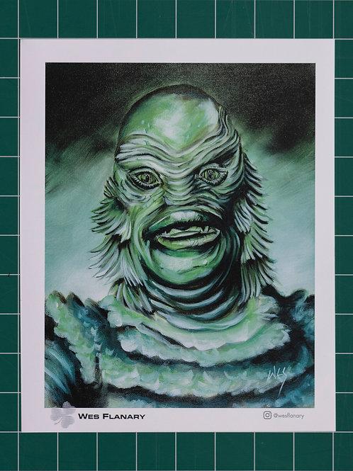 The Creature 8X10 Print