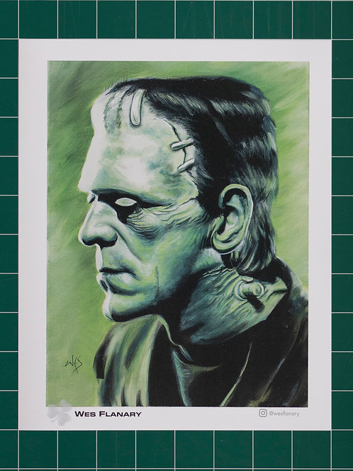 Frankenstein's Monster Profile - 8x10 Print