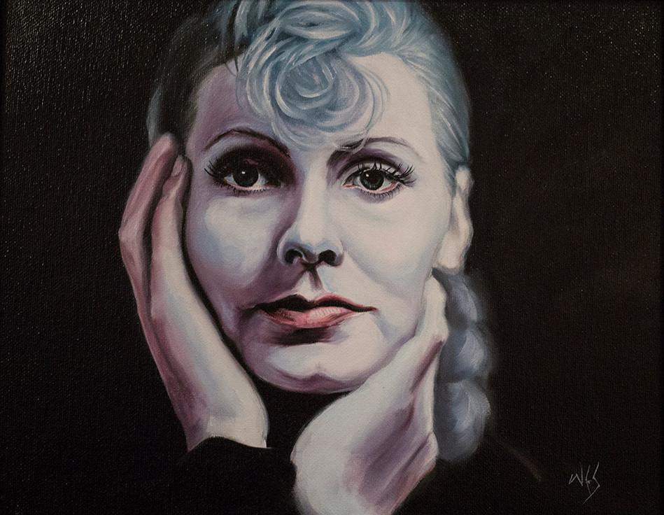 Greta Garbo Face
