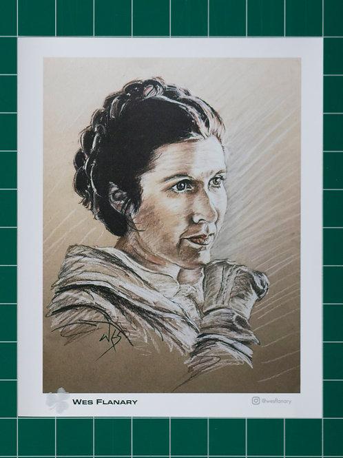 Leia - Hoth 8x10 Print