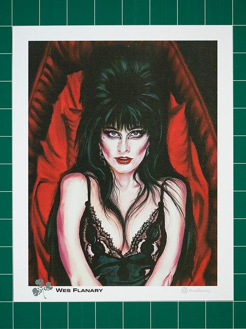 Elvira 8X10 Print (cropped)