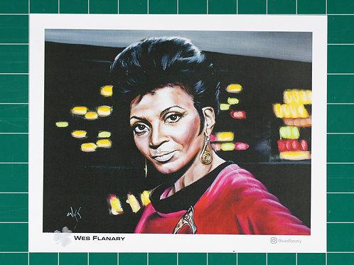 Lt. Uhura - 8x10 Print