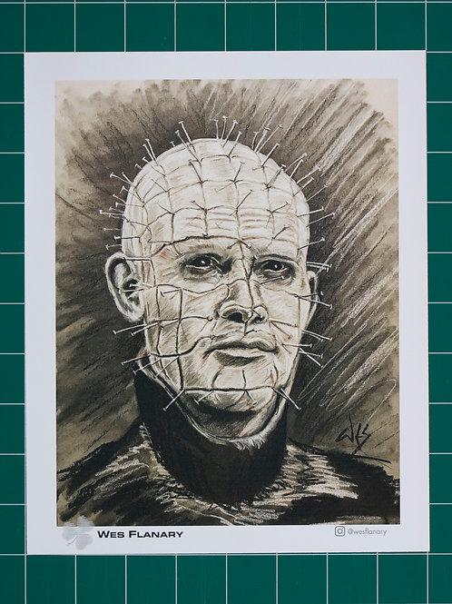 Pinhead Charcoal 8x10 Print