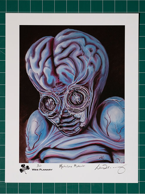 Metaluna Mutant Signed and Numbered 11x14 Print*