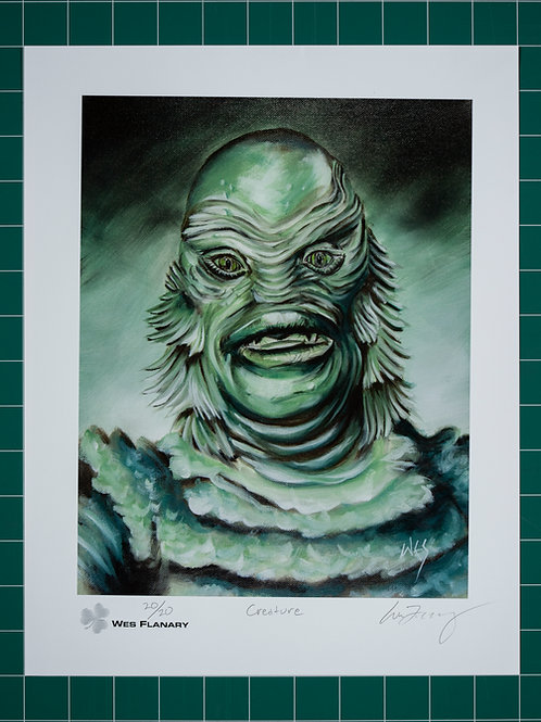 The Creature Signed and Numbered 11x14 Print*