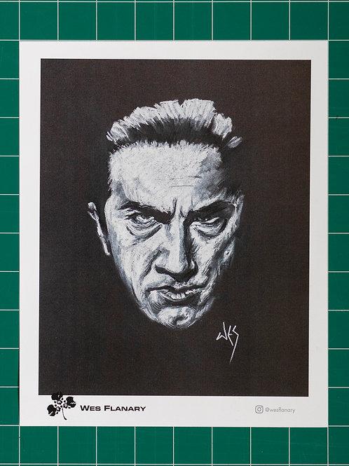 Bela Lugosi on Black 8x10 Print