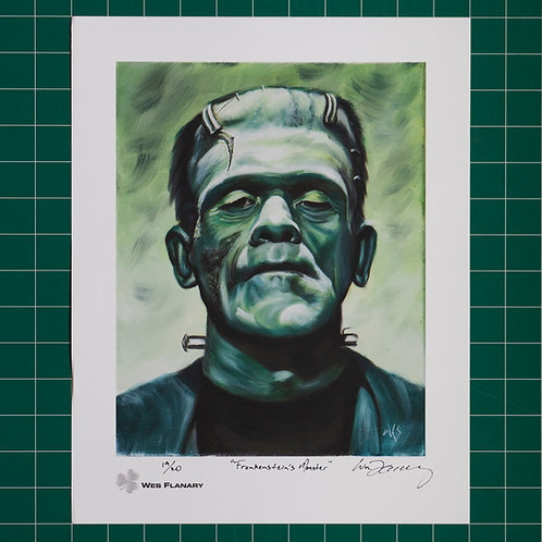 Frankenstein's Monster Signed and Numbered 11x14 Print*